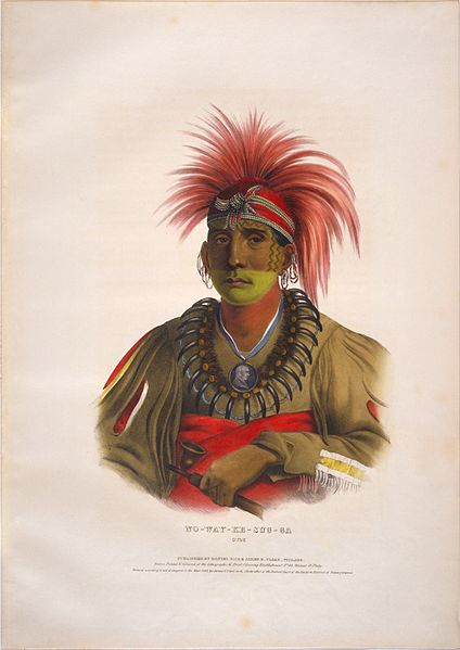 Nowaykesugga, Otoe Tribe Member