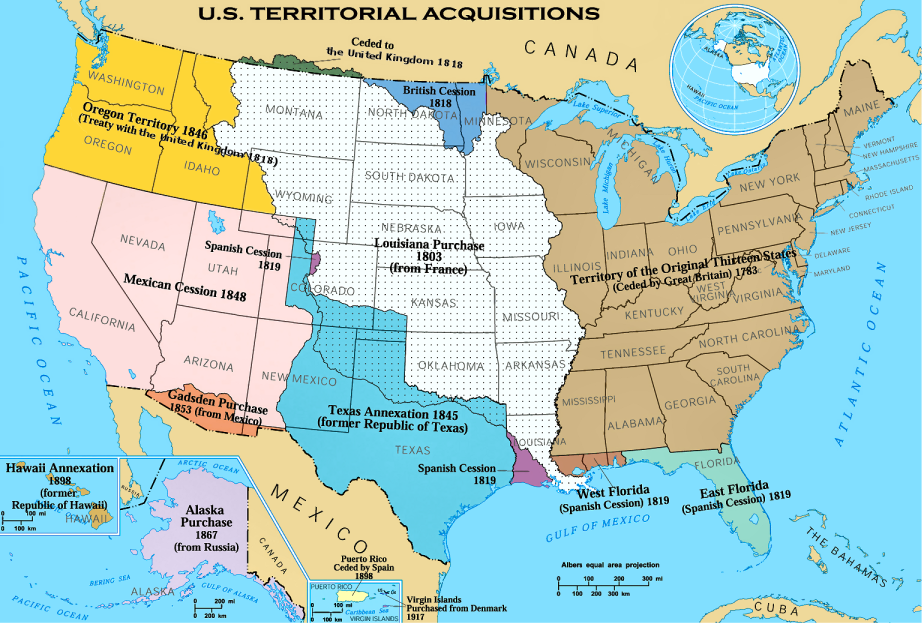 U.S. Territorial Acquisitions, Louisiana Purchase